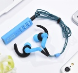 Toko Jual Rojey Baru St 006 Bluetooth Headset Sport Bluetooth Earphone For Ponsel Biru