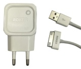 Promo Roker Fast Charging Micro 5 Pin 2 1 A For Iphone 4 White