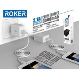 Jual Roker Goblin 2 1A Rk Pc8 Charger With Powerbank 3000Mah Kabel Micro Antik