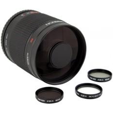 Rokinon 500M-4/3 500 Mm F8.0 Cermin Lensa untuk Olympus 4/3-Internasional