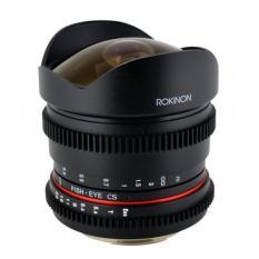 Rokinon RK8MV-N 8 Mm T3.8 Cine Lensa Mata Ikan untuk Nikon Video DSLR dengan Declicked Aperture-Intl