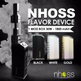 Promo Rokok Elektrik Set Original Nhoss Mod Box B4V 50W 1800Mah Import Asap Kuat Vape Pen Starter Kit Black Di Indonesia