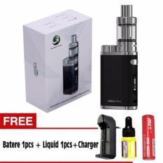 Beli Rokok Elektrik Vape Vapor Eleaf Istick Pico 75 Watt Black Free Liquid Baterai Awt Charger Single Slot Murah