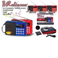 Rolinson Radio Pocket Usb Slot Tf Card Speaker Mp3 Player By Elektronik Rumah.