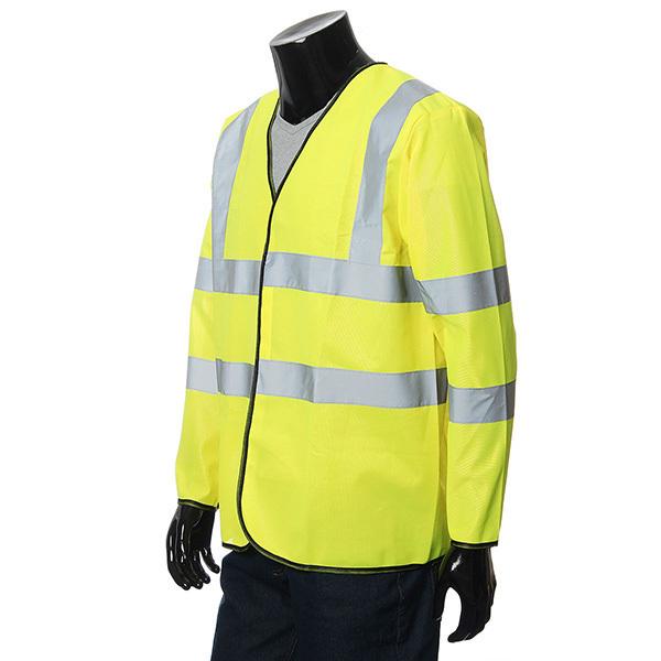 Harga Rompi Safety Jaket Lengan Panjang Dengan Garis Reflektif S Original