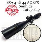 Toko Romusha Bsa 4 16X44 Aoeys Sunhide Tutup Flip Telescope Tele Terdekat