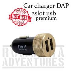 Romusha Mini Car Charger Dap Premium Dual Port Usb Ces Mobil Romusha Diskon 40