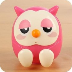 Review Rorychen Portable Cute Owl Pegangan Ponsel Mobile Cell Phone Stent Stand 1 Pc Boks Uang Celengan Penyimpanan Holder Intl Terbaru