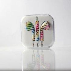 Jual Rorychen Dicetak Dengan Gandum Thread Asli Wired In Ear Earphone Untuk Apple Iphone 5 5C 5 S 6 6 S 6 Plus 6 S Intl Branded Original