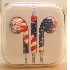 Jual Rorychen Dicetak Dengan Gandum Thread Asli Wired In Ear Earphone Untuk Apple Iphone 5 5C 5 S 6 6 S 6 Plus 6 S Intl Baru