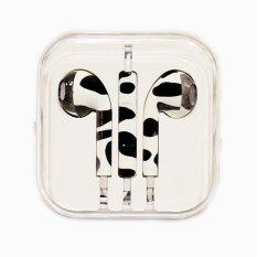 Beli Rorychen Dicetak Dengan Gandum Thread Asli Wired In Ear Earphone Untuk Apple Iphone 5 5C 5 S 6 6 S 6 Plus 6 S Intl Kredit Tiongkok