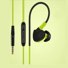 Spesifikasi Rorychen Universal Universal Ear Ear With Wheat Headset Sports Ear Earphones Intl