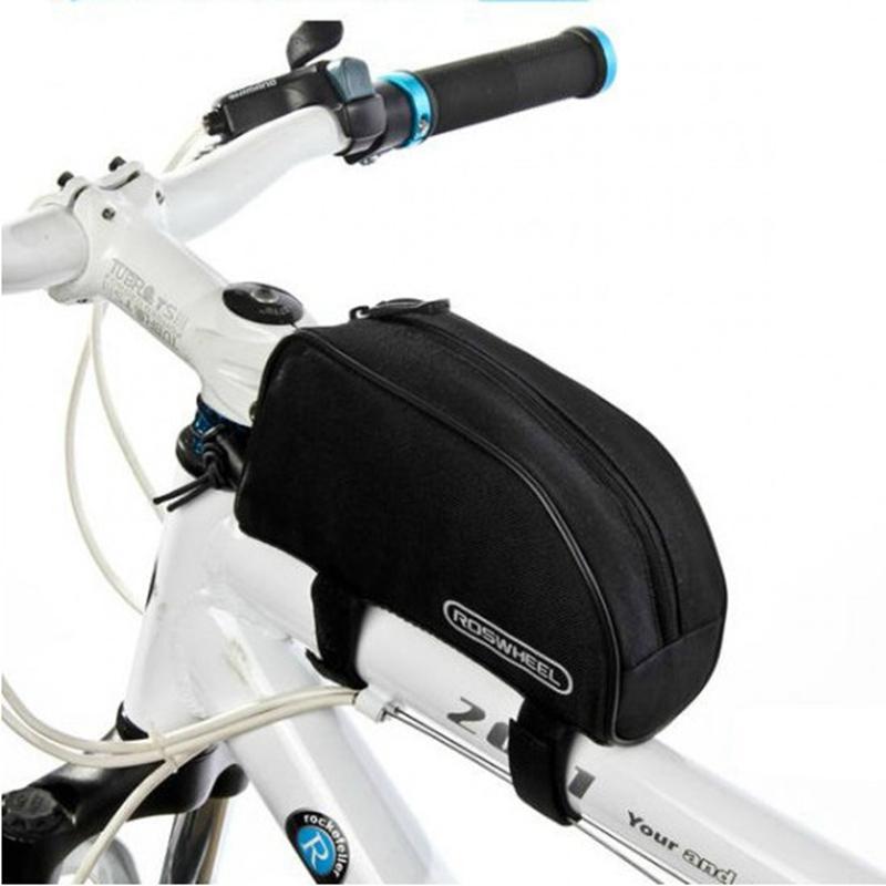 Penawaran Istimewa Roswheel Tas Sepeda 600D Polyester 1 2L Black Terbaru