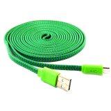 Spesifikasi Rotamart Kabel Charging Micro Usb Tali Sepatu 3 Meter Hijau Ungu Beserta Harganya