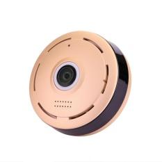 Round 360 Derajat Panorama WiFi Nirkabel Kamera Keamanan DPI Night Vision-Internasional
