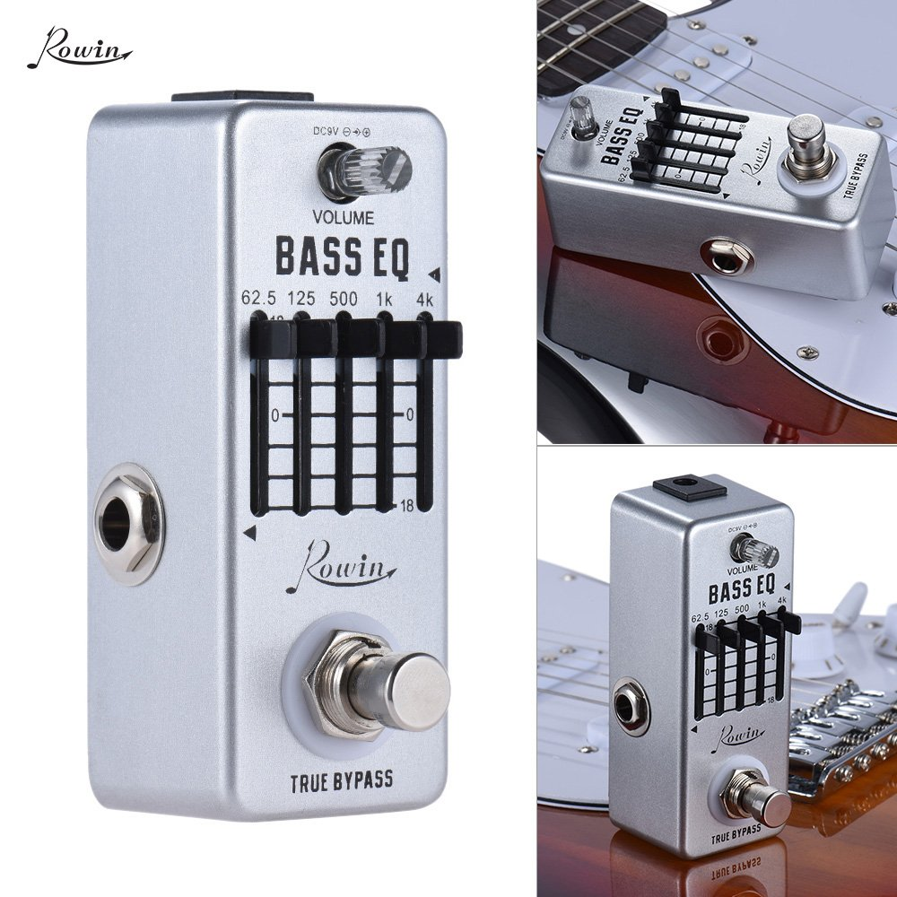 Harga Termurah Kokko Fcp2 Mini Compressor Pedal Portable Guitar Source · Rowin Bass Guitar Equalizer Effect