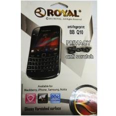 Royal Screen Protector Blackberry Q10 - Glossy