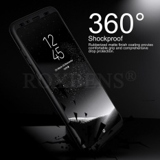 Jual Beli Roybens 360 Degree Full Body Protect Hard Slim Case Cover With Screen Protector For Samsung Galaxy S8 Plus Black Intl Baru Tiongkok