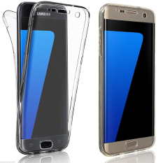 Roybens 360ᄚ Full Body Silikon Lembut Melindungi Kasus 24 + Sampul Belakang untuk Samsung Galaxy S7 Edge Jelas-Internasional