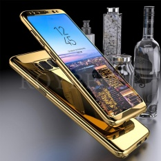 Beli Roybens Ultra Thin Hard Mirror Case Shockproof Full Screen Protector Cover For Samsung Galaxy S8 Plus Gold Intl Roybens