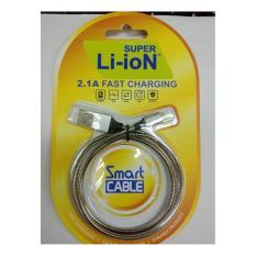 R/S; Kabel Data Kabel USB Lighting Kabel Data Fast Charging IPHONE 5/6 SUPER LI-ION 2.1A Fast Charging 01 / Rashakyamakoe Store