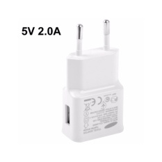 RS Travel Adapter Charger 5V 2.0A for Samsung Galaxy Note II - White