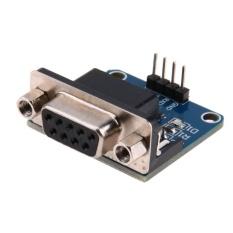 RS232 to TTL Serial Port Converter Module DB9 Connector SATA PortMould  - intl