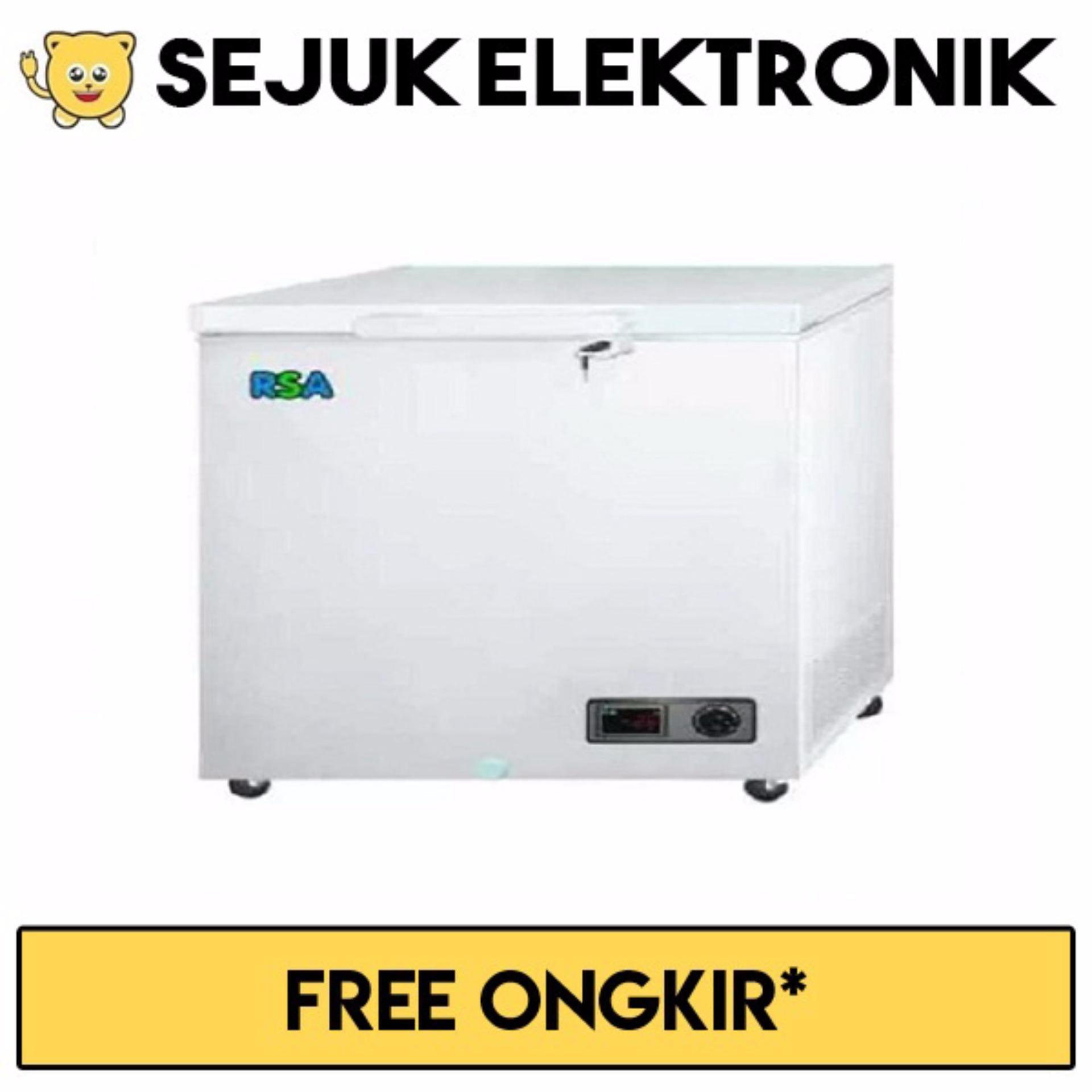Beli Rsa Cf 220 Chest Freezer 220 Liter Putih Khusus Jadetabek Dengan Kartu Kredit