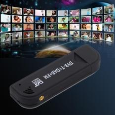 RTL2832U FC0012 DVB-T USB Digital TV Tuner Receiver Dukungan SDR untuk Laptop PC-Intl