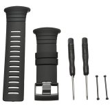Situs Review Rubber Watch Band Strap Replacement Tool For Suunto Core All Black Standard Intl