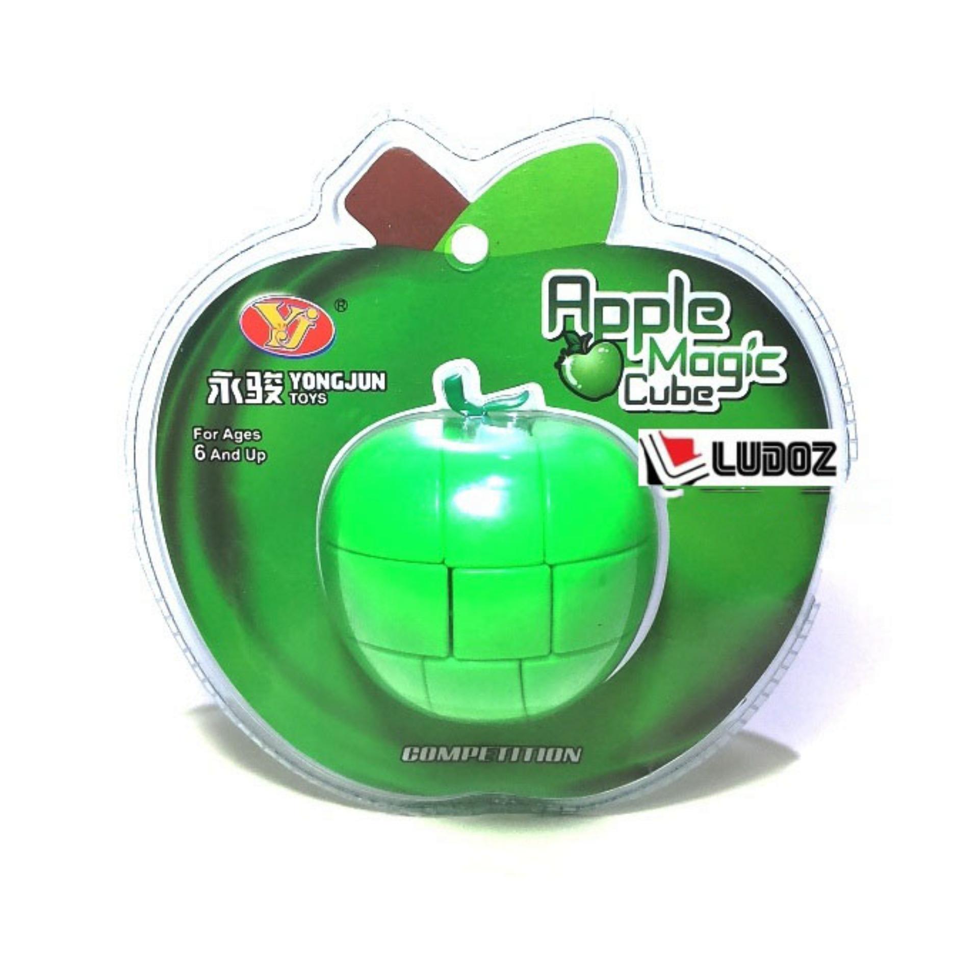 Jual Permainan Rubik Terbaik  3x3 Red Apple Ori Yong Jun Yj0226 Apel Magic Cubic Rubiks Box 3x3x3