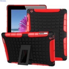 RUGGED ARMOR Apple iPad 2 iPad 3 iPad 4 Case Shockproof Casing Cover Softcase Dual Layer Hardcase S