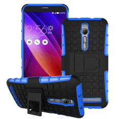 RUGGED ARMOR Asus Zenfone 2 5.5 Inch ZE551ML Case Shockproof Casing Cover Softcase Dual Layer Hardcase Stand Mode