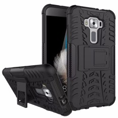 RUGGED ARMOR Asus Zenfone 3 5.2 Inch ZE520KL Case Shockproof Casing Cover Softcase Dual Layer Hardcase Stand Mode