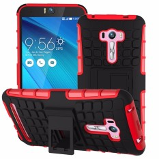RUGGED ARMOR Asus Zenfone Selfie 5.5 Inch ZD551KL Case Shockproof Casing Cover Softcase Dual Layer Hardcase Stand Mode