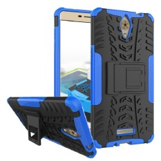 RUGGED ARMOR Coolpad Sky 3 E502 Soft Case Casing Back Cover Silicone Shockproof Kick Stand Anti Shock