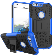 RUGGED ARMOR Google Pixel XL 5.5 Inch Case Shockproof Casing Cover Softcase Dual Layer Hardcase Stand Mode