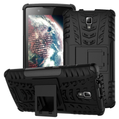 RUGGED ARMOR Lenovo A2010 Case Shockproof Casing Cover Softcase Dual Layer Hardcase Stand Mode