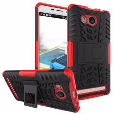 RUGGED ARMOR Lenovo A7700 Case Shockproof Casing Cover Softcase Dual Layer Hardcase Stand Mode
