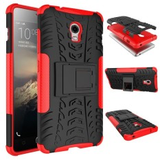 RUGGED ARMOR Lenovo Vibe P1 Turbo Soft Case Casing Back Cover Silicone Shockproof Kick Stand Anti Shock