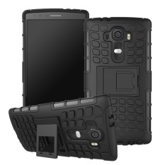 RUGGED ARMOR LG G4 Case Shockproof Casing Cover Softcase Dual Layer Hardcase Stand Mode