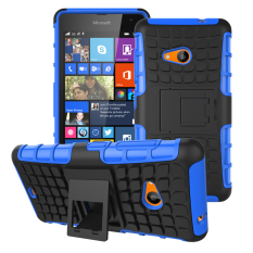RUGGED ARMOR Microsoft Nokia Lumia 535 Case Shockproof Casing Cover Softcase Dual Layer Hardcase Stand Mode
