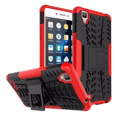 RUGGED ARMOR Oppo F1 F1f A35 Case Shockproof Casing Cover Softcase Dual Layer Hardcase Stand Mode