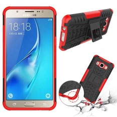 RUGGED ARMOR Samsung Galaxy J7 2016 J710 Case Shockproof Casing Cover Softcase Dual Layer Hardcase Stand