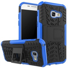 RUGGED ARMOR Samsung Galaxy J7 Prime Case Shockproof Casing Cover Softcase Dual Layer Hardcase Stand Mode