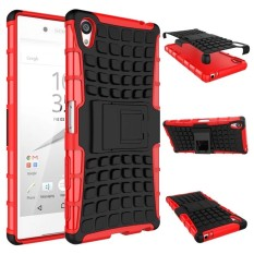 RUGGED ARMOR Sony Xperia Z2 Big Docomo 5.2 Inch Case Shockproof Casing Cover Softcase Dual Layer Hardcase Stand Mode