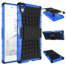 RUGGED ARMOR Sony Xperia Z3 Big Docomo 5.2 Inch Case Shockproof Casing Cover Softcase Dual Layer Hardcase Stand Mode