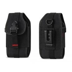 Rugged Case Tahan Lama Pouch Cover Holster Klip Logam dengan Belt Loop untuk Samsung Rugby 2/3/4/ Convoy 4/Kyocera DuraXV/DuraXA/Pantech Breeze 4/LG Cosmos 2/3/Casio GzOne Ravine 2-Intl