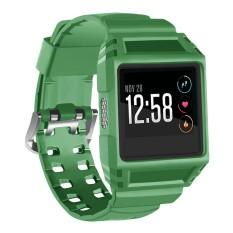 Review Tentang Kasar Gelang Strap Pelindung Case Holder Berlaku Untuk Fitbit Ionic Smart Watch Intl
