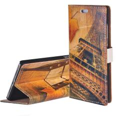 RUILEAN Elegan Pola Flip Leather Wallet Card Pouch Stand Case Cover untuk Samsung Galaxy J5-K19